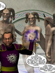 3d gang bang action of petite elf girl and - Cartoon Sex - Picture 7