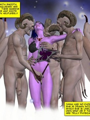 3d gang bang action of petite elf girl and - Cartoon Sex - Picture 8