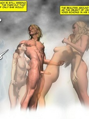 Awesome nasty 3d group sex action of humans - Cartoon Sex - Picture 3