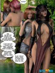 Pinky hair 3d elf shemale ass banging redhead - Cartoon Sex - Picture 2