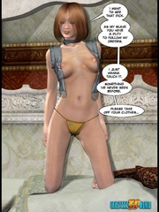 Pinky hair 3d elf shemale ass banging redhead - Cartoon Sex - Picture 7