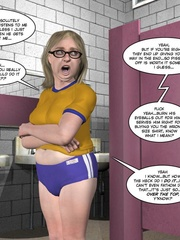 Small tits blonde 3d ladyboy playing with - Cartoon Sex - Picture 12