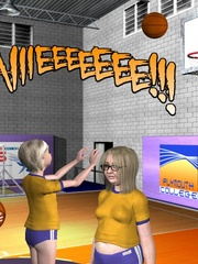 Check out 3d cheerleaders change in the - Cartoon Sex - Picture 15