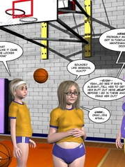 Check out 3d cheerleaders change in the - Cartoon Sex - Picture 16