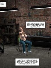 Lusty 3d mistress in leathe outfit humuliates - Cartoon Sex - Picture 2