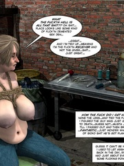 Lusty 3d mistress in leathe outfit humuliates - Cartoon Sex - Picture 3