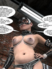 Lusty 3d mistress in leathe outfit humuliates - Cartoon Sex - Picture 7