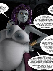 Strange three tittied 3d alien girl fucked - Cartoon Sex - Picture 4