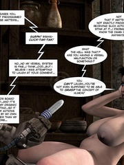 Nude big tits brunette girl gets her pussy - Cartoon Sex - Picture 10