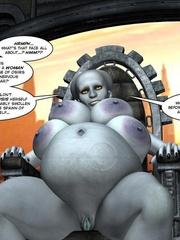 Strange three tittied 3d alien girl fucked - Cartoon Sex - Picture 10