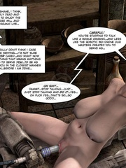 Nude big tits brunette girl gets her pussy - Cartoon Sex - Picture 11