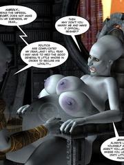 Strange three tittied 3d alien girl fucked - Cartoon Sex - Picture 11