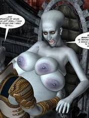 Strange three tittied 3d alien girl fucked - Cartoon Sex - Picture 12