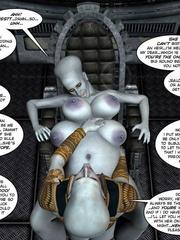 Strange three tittied 3d alien girl fucked - Cartoon Sex - Picture 13