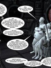 Strange three tittied 3d alien girl fucked - Cartoon Sex - Picture 15