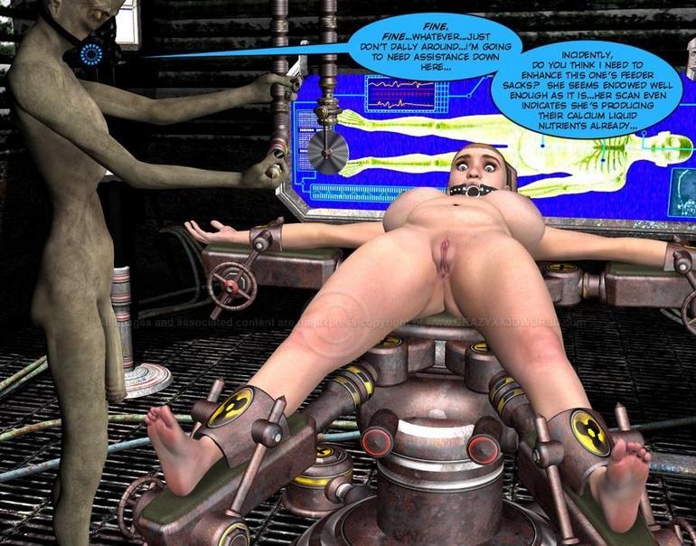 3d animation robot captive 8