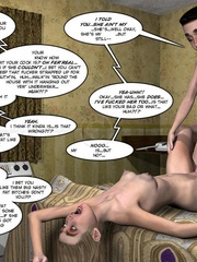 Skinny 3d blondie gets a proper fuck with her - Cartoon Sex - Picture 9