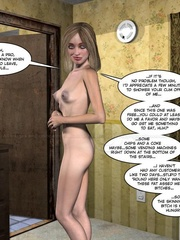 Skinny 3d blondie gets a proper fuck with her - Cartoon Sex - Picture 12