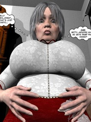 Lusty nude 3d dude caught jerking off in - Cartoon Sex - Picture 4