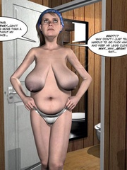 Lusty nude 3d dude caught jerking off in - Cartoon Sex - Picture 7