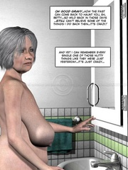 Lusty nude 3d dude caught jerking off in - Cartoon Sex - Picture 11