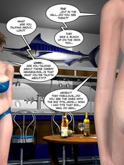 Her very tight and tiny bibkiny can barely - Cartoon Sex - Picture 4