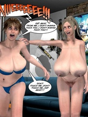 Her very tight and tiny bibkiny can barely - Cartoon Sex - Picture 6