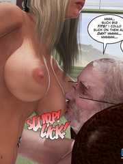 Cute blonde 3d babe sucking and fucking - Cartoon Sex - Picture 9