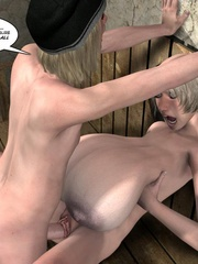 Heavy tits slutty 3d girl was fucked by - Cartoon Sex - Picture 9