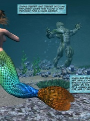 Sexy perfect tits 3d mermaid wants to know - Cartoon Sex - Picture 7