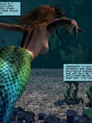 Sexy perfect tits 3d mermaid wants to know - Cartoon Sex - Picture 10