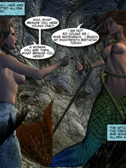 Sexy perfect tits 3d mermaid wants to know - Cartoon Sex - Picture 12