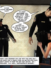 Two horny 3d pollice officers sharing sexy - Cartoon Sex - Picture 3