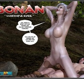 White haired 3d els girl geys her face cum covered…