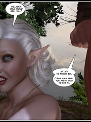 Muscular 3d guy and sexy busty elf babe - Cartoon Sex - Picture 4