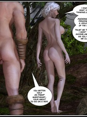 Muscular 3d guy and sexy busty elf babe - Cartoon Sex - Picture 11