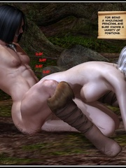 Muscular 3d guy and sexy busty elf babe - Cartoon Sex - Picture 14