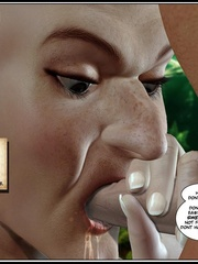 Bald 3d elf girl get her tight ass stretched - Cartoon Sex - Picture 3
