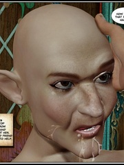 Bald 3d elf girl get her tight ass stretched - Cartoon Sex - Picture 15