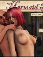 Slutty redhead 3d captain girl fucking with - Cartoon Sex - Picture 1
