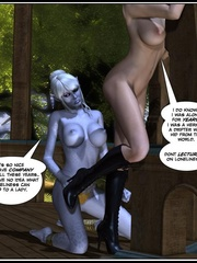Lusty redhead 3d babe get her flowing pussy - Cartoon Sex - Picture 6