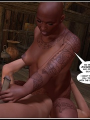 Strange tattoed 3d bal babe riding ladyboys - Cartoon Sex - Picture 2
