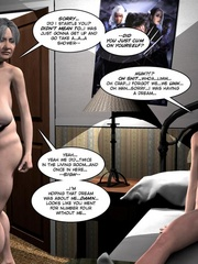 Two fat 3d older women can't share young guy - Cartoon Sex - Picture 14