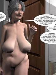 Two fat 3d older women can't share young guy - Cartoon Sex - Picture 16