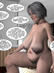 Huge tittied older 3d woman gets her pussy - Cartoon Sex - Picture 9