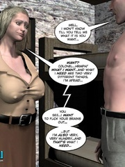 Lusty 3d woman need a proper fuck and she - Cartoon Sex - Picture 3