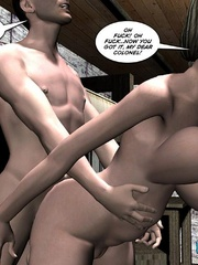 Lusty 3d woman need a proper fuck and she - Cartoon Sex - Picture 9