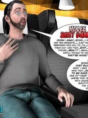 Horny big 3d guy fucks heavy tits babe from - Cartoon Sex - Picture 9