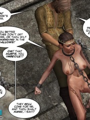 Poor chained 3d princess gets facialized by - Cartoon Sex - Picture 6