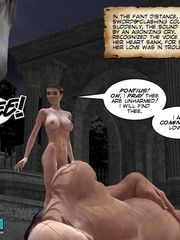 Busty slutty 3d princess in great cock - Cartoon Sex - Picture 4